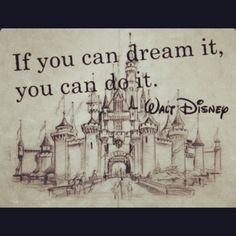 Don't be afraid to dream....