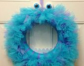Items similar to Monster, Inc. Sully Kranz on Etsy