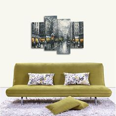 Black and White Europe Buildings City Landscape Diamond Painting Full Round Diamond Embroidery Beaded Cross Stitch Wall Decor #Affiliate