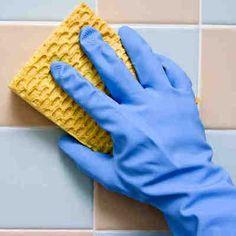 Una maravillosa solución natural para limpiar los azulejos