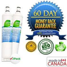 "Green Filter for Whirlpool WFLC200V NSF Certified Refrigerator Water Filter, ... by Whirlpool. $40.00. Help save the environment with this eco-friendly ""green"" filter that is an original equipment replacement. Compared to conventional carbon-based filters, Swift Green filters are environmentally friendly. Conventional carbon filters are produced by a burning process called open pit charring which release pollution and greenhouse emissions into the air. Swift Green f..."