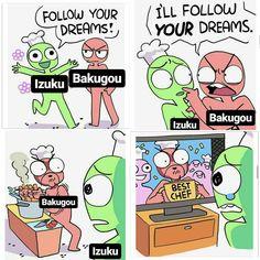 Bakugou Deku Boku no Hero Academia funny