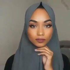 Hijab Styles 449023025351561572 - Source by jashilaz Hijab Turban Style, Mode Turban, Hijab Style Dress, Hijab Outfit, Modern Hijab Fashion, Street Hijab Fashion, Hijab Fashion Inspiration, Muslim Fashion, Hijab Fashion Style