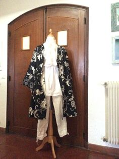 Laughing, Duster Coat, Kimono Top, Costumes, Jackets, Tops, Women, Fashion, Down Jackets