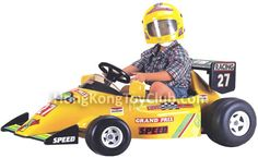 Formula 1 racer! Travels at up to 7 km/h!