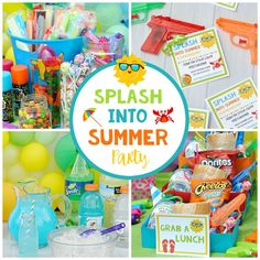 If you want to celebrate the end of another school year with the kids, this School's Out Summer Party is fun, simple and can be thrown in your own backyard. We've got food ideas, summer party decorations, activities, and invitations!