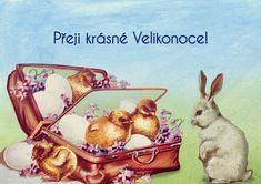 ▷ Velikonoční přání s obrázky ke stažení zdarma (aktualizováno 2020) Easter, Painting, Decor, Decoration, Easter Activities, Painting Art, Paintings, Decorating, Painted Canvas