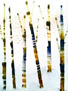 I love birch trees! You don't see them down here in Florida though.