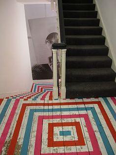 Great painted floor