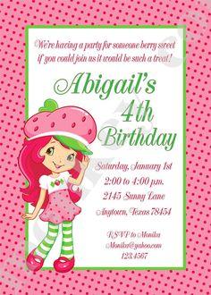 Strawberry Girl Birthday Party