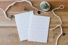 Letterpressed Greeting Cards Set of Six by TOKENprintandpress, $18.00