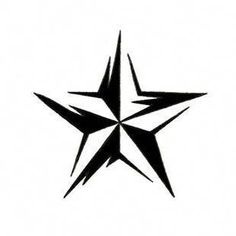 tribal_nautical_star__tattoo for shoulder Girly Tattoos, Tribal Tattoos, Nautical Star Tattoos, Elbow Tattoos, Trendy Tattoos, Popular Tattoos, Body Art Tattoos, Sleeve Tattoos, Tattoos For Guys