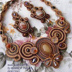 #soutache #necklace