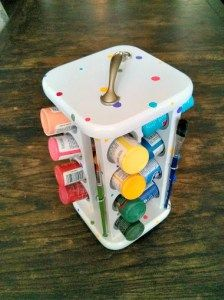 Spiced Up Paint Caddy - The Palette Muse