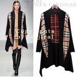 Hi-Low Checkered Coat