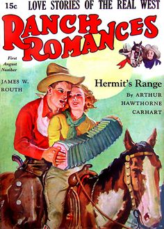 There's just something about cowboys... :) #vintage #magazines #cowboy #cowgirl #Western #romance