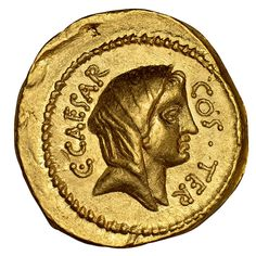 Julius Caesar Coin, Goddess Of The Hearth, Sell Coins, Bullion Coins, Roman History, Coins For Sale, Ancient Artifacts, Ancient Rome, Roman Empire