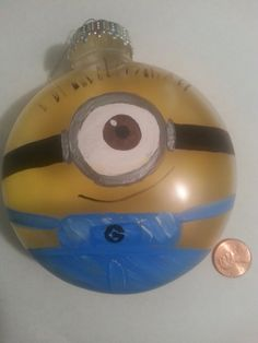 Hey, I found this really awesome Etsy listing at https://www.etsy.com/listing/214658843/despicable-me-minion-ornament
