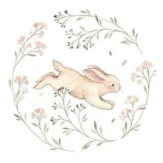 Jumpin into this Easter weekend like this little bunny 🌷. I am so happy spring is already here and I have finally started drawing, painting and improving my skills a bit. Easter Drawings, Cute Drawings, Drawing Sketches, Drawing Ideas, Rabbit Illustration, Art Et Illustration, Lapin Art, Illustration Mignonne, Illustration Inspiration