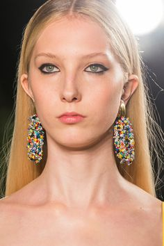 Carolina Herrera at New York Fashion Week Spring 2018 - The Coolest Jewelry Spotted on the New York Runway - Photos
