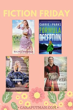 Fiction Friday: 4 Great Reads + a Giveaway   caraputman.com