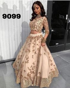 cost of indian wedding dress Indian Prom Dresses, Desi Wedding Dresses, Indian Bridal Outfits, Indian Party Wear, Dress Indian Style, Indian Designer Outfits, Pakistani Outfits, Wedding Lenghas, Mode Bollywood