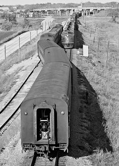 """jcstrains: """"All The Way — aryburn-trains: MP, Round Rock, Texas, 1965 by… http://ift.tt/2lizC7m """""""