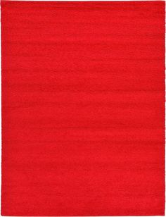 Solo Cherry Red Area Rug