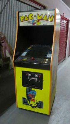 1980 Midway Pac Man Machine.  Working Condition.  Asking $1500