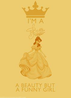 Fan Art of Disney Princesses: I'm a... Belle for fans of Disney Princess.