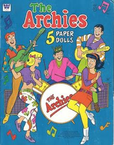 The Archies, 1969 - Paper Dolls Reminds me of my childhood. I had all sorts of paper dolls when I was a kid.