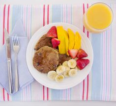 Ten Minute Mango Pancakes