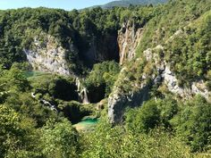Plitvice lakes national park. The park offers breathtaking views. Truly a wonderland.