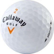 good 36 AAA Callaway HX Hot / Hot Plus Used Golf Balls