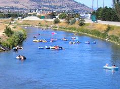 Float down the Channel from Okanagan Lake to Skaha Lake! Go with Coyote Cruises and a bus will return you to the north end and your car. Canada Travel, Canada Trip, The Places Youll Go, Places To Go, Vancouver City, Western Canada, Lake Life, Outdoor Fun, British Columbia