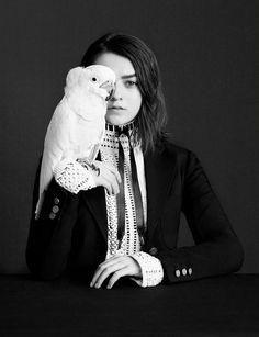 Мэйси Уильямс — Фотосессия для «Dazed & Confused» 2015 – 9