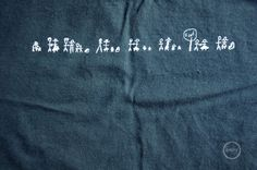 Simple family reunion tshirt idea.  The back has the first letter of each persons name.