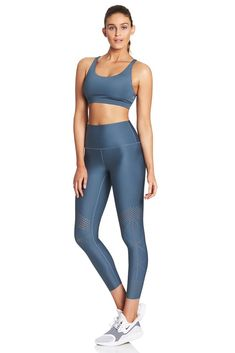 63f29ac3c9f56 Studio to Street. Gym GearTeal BlueLaser CuttingYoga PantsActivewearGym Wear