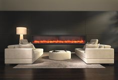 The Amantii Panorama Series Deep Built In Electric Fireplace - offers a modern aesthetic & heats up to 500 Sq. Indoor or outdoor use. Linear Fireplace, Fireplace Inserts, Modern Fireplace, Fireplace Design, Fireplace Mantels, Fireplace Ideas, Fireplace Brick, Contemporary Electric Fireplace, Built In Electric Fireplace