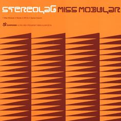 Stereolab album cover for Miss Modular - design by Julian House