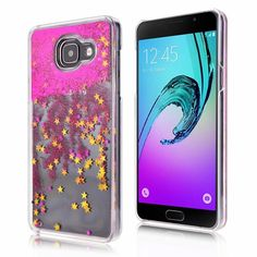 Clear Dynamic Liquid Glitter Colorful Paillette Sand Quicksand Case Cover For Samsung Galaxy A3 A5 A7 Water Cases Back