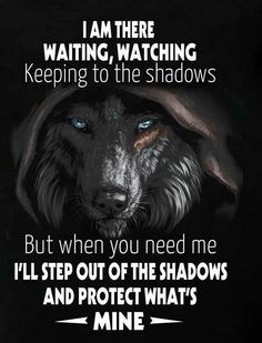 Wolf Quotes - I am there waiting, watching keeping to the shadows. - Wolf Quotes – I am there waiting, watching keeping to the shadows. Wisdom Quotes, True Quotes, Great Quotes, Quotes To Live By, Motivational Quotes, Inspirational Quotes, Funny Quotes, Be Wolf, Lone Wolf Quotes