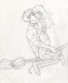 you and me by burdge bug Harry Potter & Ginny Weasley Fanart Harry Potter, Harry Potter Ships, Harry Potter Drawings, Harry Potter Love, Harry Potter Fandom, Harry Potter Memes, Harry Potter World, Harry Y Ginny, Ron Et Hermione