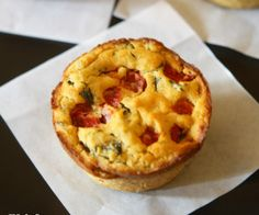 Chickpea Flour Mini Quiches {vegan, grain-free, gluten-free} I would leave out the oil, but these look yummy.