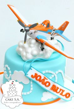 Planes Disney Cake  www.facebook.com/CakeS.A.1