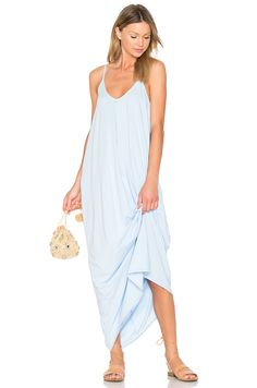 e600968f42 BOBI Drape Maxi Dress.  bobi  cloth   Drape Maxi Dress
