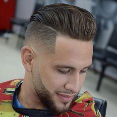 Disconnected Undercut Fade Haircut - Best Disconnected Undercut Haircuts For Men: Cool Disconnected Hairstyles For Guys Best Undercut Hairstyles, Undercut Styles, Short Hair Undercut, Undercut Pompadour, Stylish Hairstyles, Modern Undercut, Haircut Styles, Hairstyles 2018, Funky Hairstyles