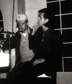 Nick Cave and Will Oldham