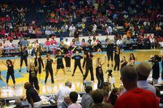 Zumba Zumba  dancing with The Zumba Team at Chicago Sky basketball game 8/23/13