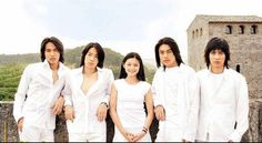 Meteor Garden Taiwanese drama series) Best Asian TV series for me. Alongside with it's Korean version, Boys Over Flower. Meteor Garden, Asian Actors, Korean Actors, Drama Series, Tv Series, Vaness Wu, Jerry Yan, Kim Hyun, Boys Over Flowers